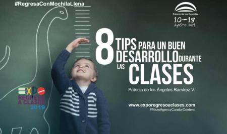 8 tips para un buen desarrollo durante las clases